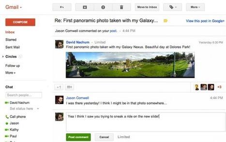 Novidade no Gmail: Responda as notificações do Google+ diretamente no Gmail | Android Brasil Market | Scoop.it