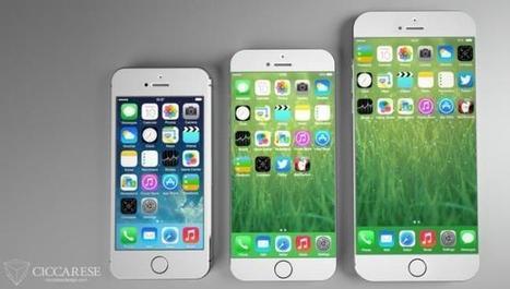El iPhone 6 podría ser presentado en agosto, 4,7 y 5,5 pulgadas como opciones | MSI | Scoop.it