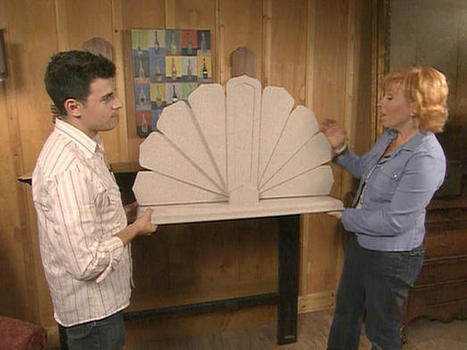 Trash to Treasure: Old Ceiling Fan Blades | Air Circulation and Ceiling Fans | Scoop.it