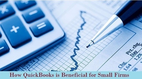 How QuickBooks is beneficial for Small Firms | ashleysmith | Scoop.it