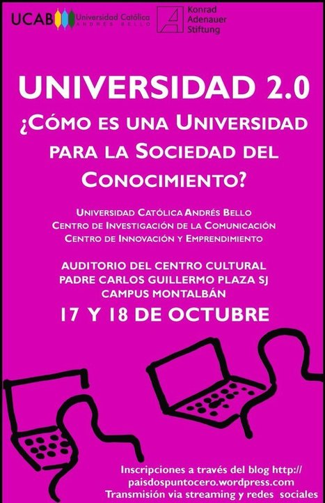 La Universidad 2.0 se discute en la UCAB | Educación y TIC | Scoop.it