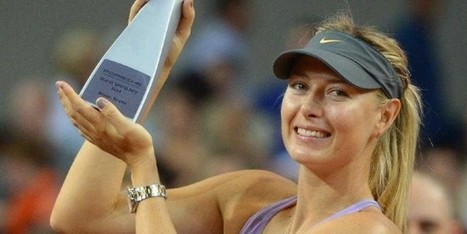 Maria Sharapova Porsche Grand Prix | Crispy Celebs | crispycelebs | Scoop.it