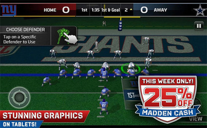 Madden NFL 25 Android game app features new touch controls for mobile devices - Examiner.com | download game android | Scoop.it