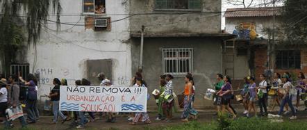 La favela la plus cool de Rio en passe d'être sacrifiée sur l'autel des JO | Urban planning and megaevents: Rio x JO x World Cup | Scoop.it