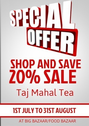 Taj Mahal Tea offer by www.uhoy.com | net marketing | Scoop.it