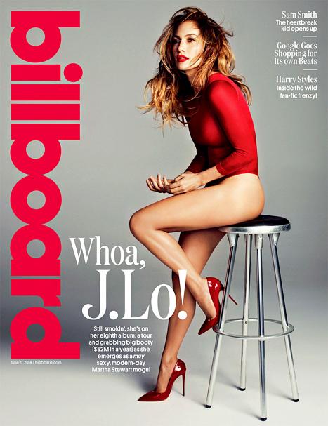 Jennifer Lopez : Sizzles on the cover of Billboard Magazine July 2014 | Filmi Gossip | Scoop.it