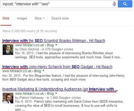 Audience-focused link Building approach in 2014 | IBOXSEO | Internet marketing | Scoop.it