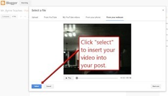 An Easy Way to Create Video Blog Entries | Curating Information | Scoop.it