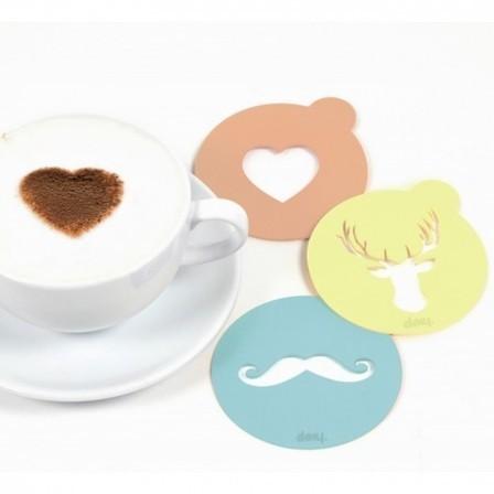 Des pochoirs pour le latte art | Trends & Design | Scoop.it