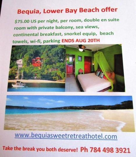 Bequia SweetRetreat  on Twitter | Bequia - All the Best! | Scoop.it