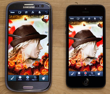 Adobe brings Photoshop Touch to iPhone & Android so you can edit photos on the go | teaching with technology | Scoop.it