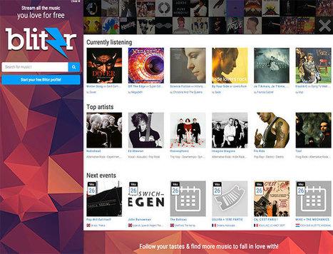 Blitzr : la musique en streaming à la française | Quatrième lieu | Scoop.it