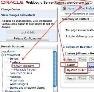 Dynamic Cluster in WebLogic 12.1.2 | Desarrollo WEB | Scoop.it
