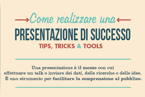 Tips and tricks per realizzare una presentazione efficace | Internet & Web | Scoop.it