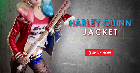 Harley Quinn Jacket For Christmas | CELEBRITY OUTFITS | Scoop.it