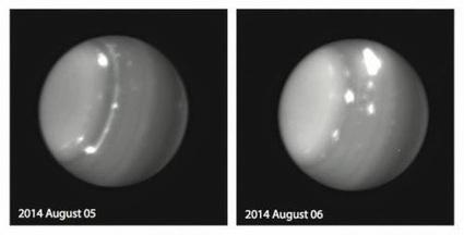 Astrofísica y Física: Observada una gran tormenta en Urano | Catywo | Scoop.it