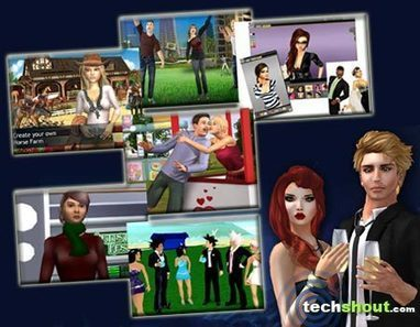 6 Games Like Second Life - TechShout! | Second Life and Virtual Worlds | Scoop.it