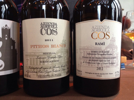 Azienda Agricola COS: A Sicilian winemaker with a difference | Wine News | Scoop.it