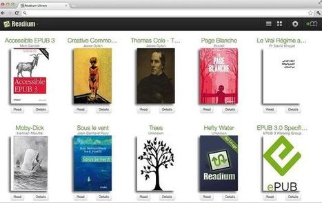 Readium, crea tu biblioteca y lee libros electrónicos ePub en tu navegador Chrome | E-Learning, M-Learning | Scoop.it