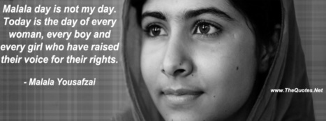 Malala Yousafzai Quotes | TheQuotes.Net - Motivational Quotes | Quotes | Scoop.it