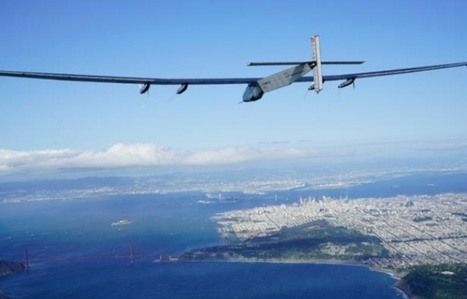 L'avion solaire Solar Impulse 2 poursuit son tour du monde | Energies Renouvelables | Scoop.it
