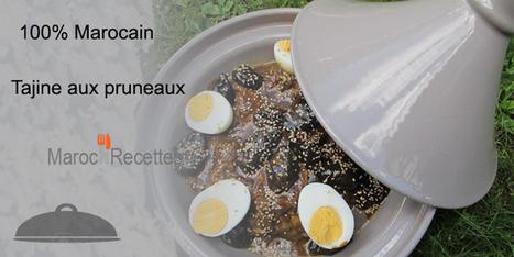 Tajine aux pruneaux   Tajines   Scoop.it