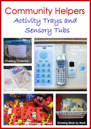 Community Helpers Activity Trays and Sensory Tubs | Montessori Inspired | Scoop.it