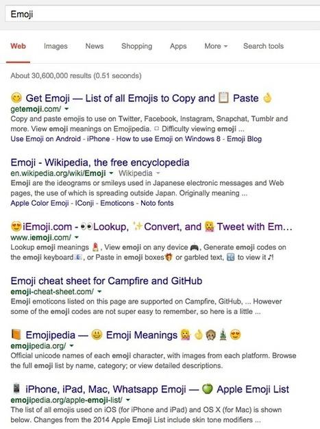 Emoji Characters Showing On Google Desktop Search Results: Cheers �� | Digital Marketing Lowdown | Scoop.it