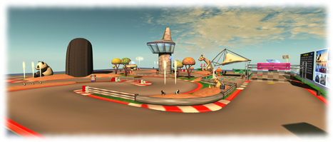 Pocket Racing at Ace Resort, Tohl777C - Second life | Second Life Destinations | Scoop.it