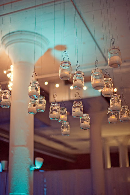 Mason jar lanterns en masse - DIY | Upcycled Garden Style | Scoop.it