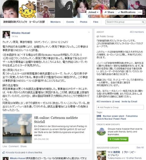 カッテノン原発、事故を報告 SRオンライン、2014.12.21より | Japan Now 1 地球のつながり方  震災・原子力事故・紫陽花運動・原子力賛成反対対話・遺伝子組み換え食品 | Scoop.it