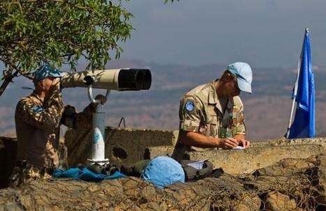Australië veroordeelt gijzeling blauwhelmen - vuurgevecht op Golan | burgeroorlog Syrië 5 havo | Scoop.it