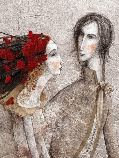 "Gabriel Pacheco's Illustrations for ""Beauty and... - Book Artists and Their Illustrations - Quora 