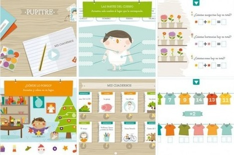 Pupitre, nueva aplicación para niños creada por Santillana para iPad | Recull diari | Scoop.it