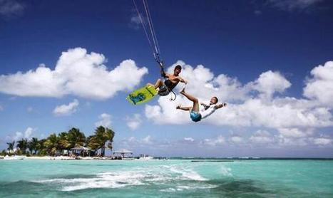 Twitter / ciscoshow: KiteSurf à l'ilet caret ? ... | kitesurf | Scoop.it