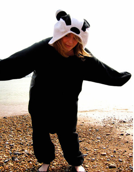 Badger animal onesie | adult onesies sale-pajama.com | Scoop.it