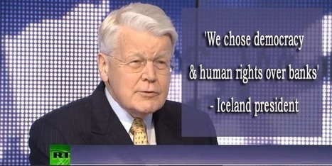 'We chose democracy & human rights over banks' – Iceland president | Scandinavia | Scoop.it