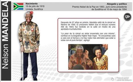 Especial Últimas Noticias: El invencible - Nelson Mandela | BIOGRAFIA DE NELSON MANDELA | Scoop.it