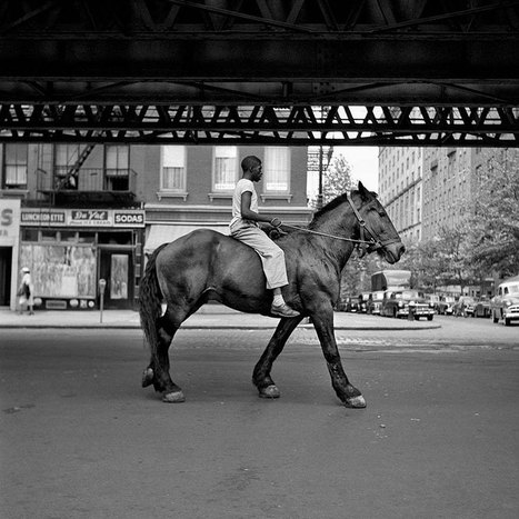 The Nearly Lost 1950s Street Photos of NYC And Chicago by Vivian Maier Were Discovered Only After Her Death | Beautiful Things | Scoop.it