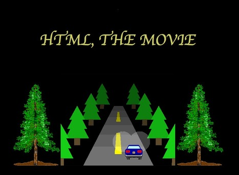 HTML, The Movie -or- The Resolution Will Not Be Televised - Jesse Hulcher and 'Pony Eyelashes~' | Animated Gif As Art | Scoop.it