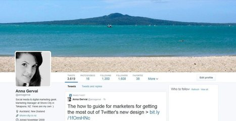 """Twitter's New Design: The Marketers How To Guide 