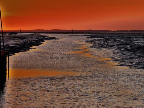 Sans retouche , je vous présente le ciel d'un soir sur le bassin d'Arcachon ! | | Le Bassin d'Arcachon | Scoop.it