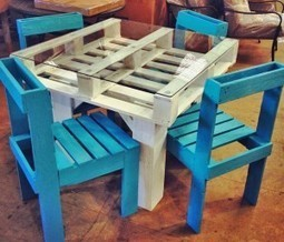 DIY Pallet Furniture Set   No Place Like Home   Scoop.it