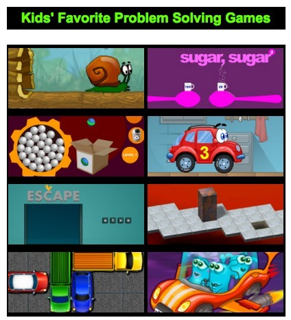 Kid's Favorite Problem Solving Games | Math, Technology and UDL:  Closing the Achievement Gap | Scoop.it
