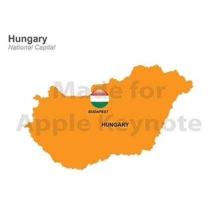 Map of Hungary for Mac Keynote Presentation | Apple Keynote Slides For Sale | Scoop.it