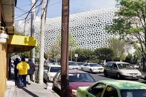 This Mexico City Building literaly Eats Smog for Lunch | Karl Michale's Scoop | Scoop.it