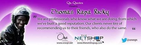 Thomas rapa ricky qn quotes - The One Question Network | Interactive marketing | Scoop.it