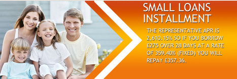 Small Cash Loans- Easy funds with flexible repayment in installments | Small Loans Installment | Scoop.it