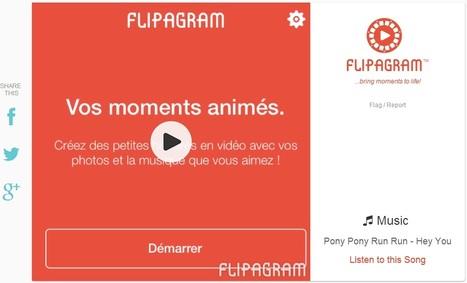 Créez facilement des vidéos (sur la base de photos) grâce à Flipagram | CHAMBRE D HOTES AIX LES BAINS | Scoop.it