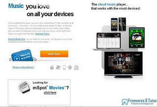 mSpot Music : un service en ligne pour écouter sa musique depuis n'importe où et à partir de n'importe quel appareil connecté à internet   Time to Learn   Scoop.it